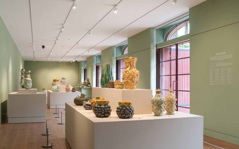 Gallery view of Kate Malone Inspired by Waddesdon exhibition 2016