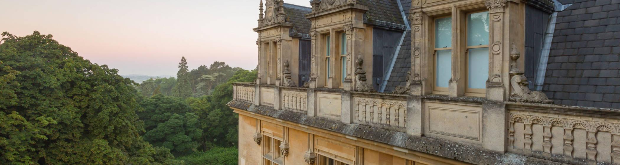 manor exterior architecture