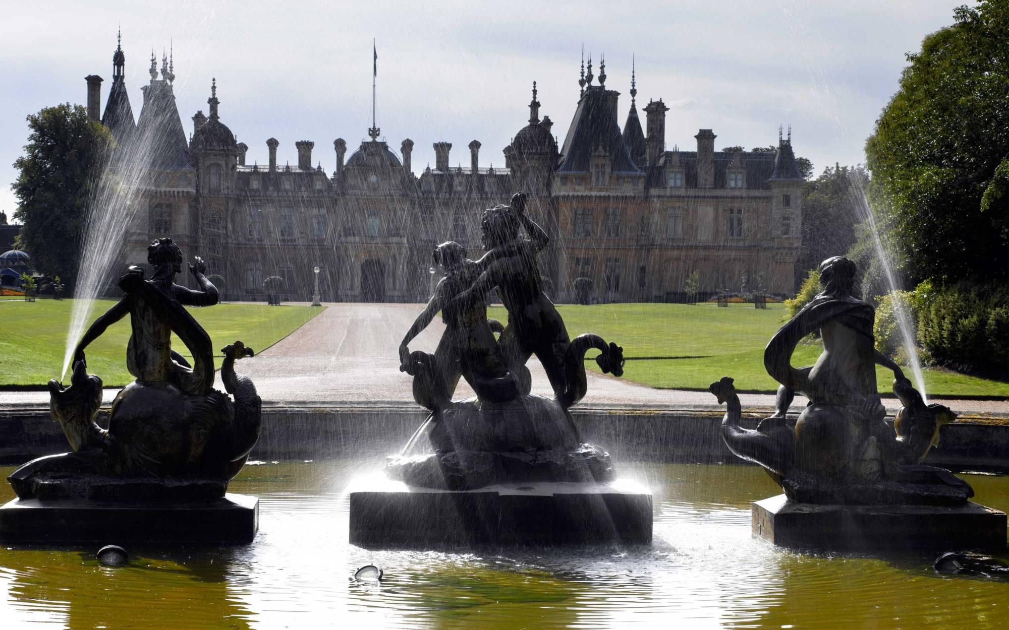 North Fountain, Waddesdon Manor