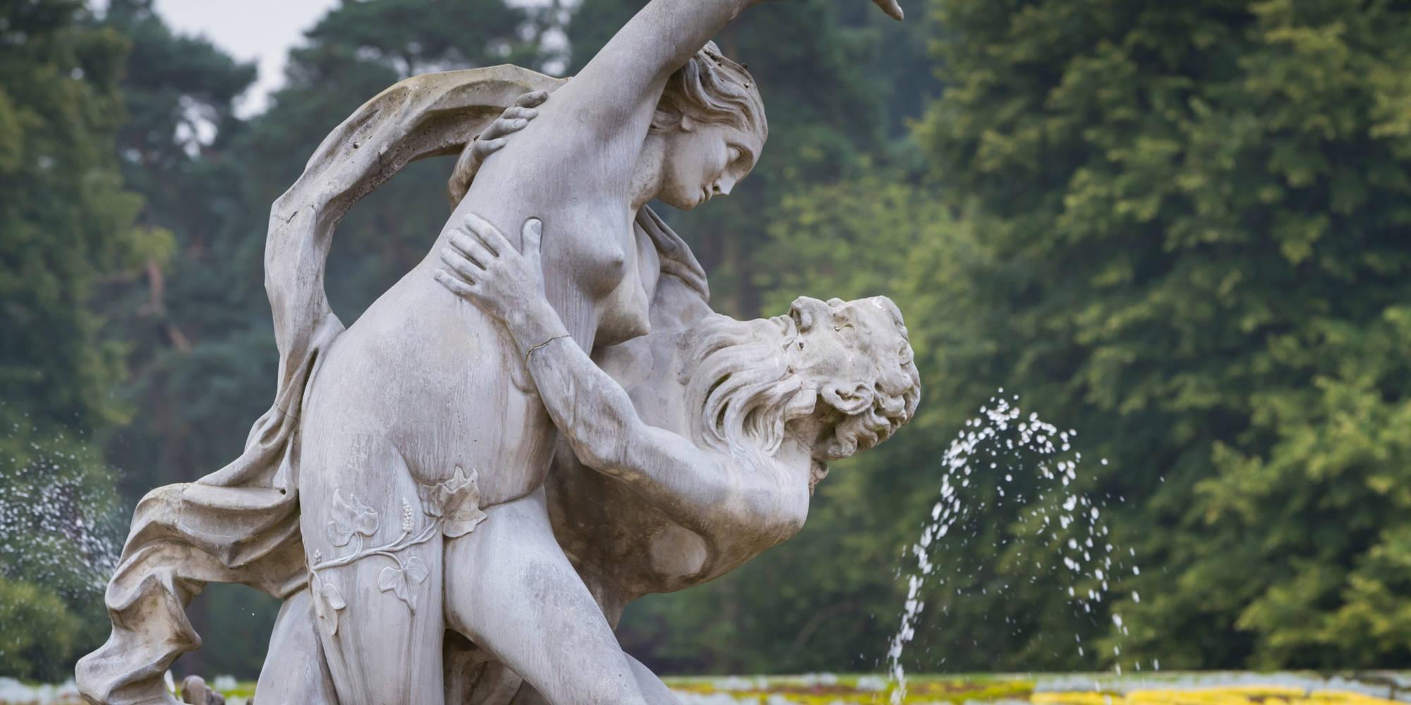 Parterre fountain
