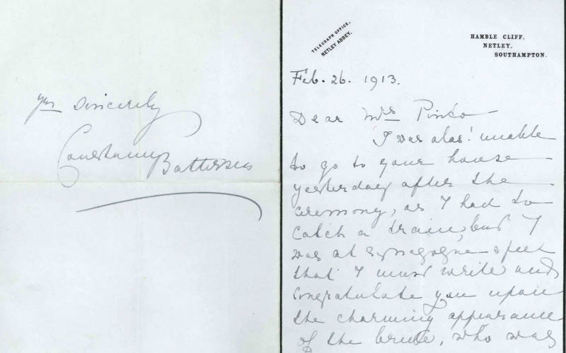 Family letters: 'a brilliant affair'