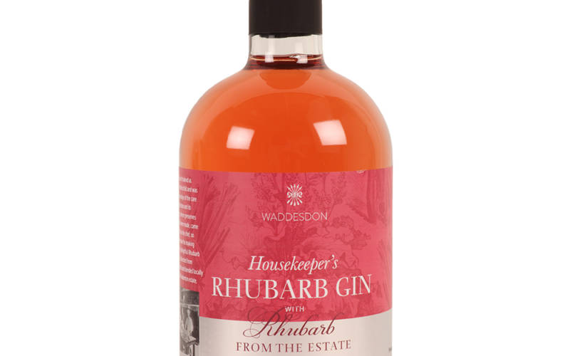 Housekeeper's Rhubarb Gin