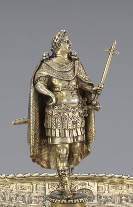 The Vespasian figure from the Aldobrandini Tazze