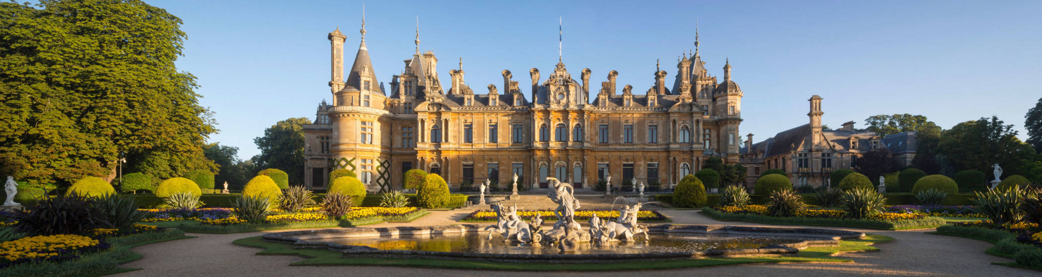 South front of Waddesdon Manor