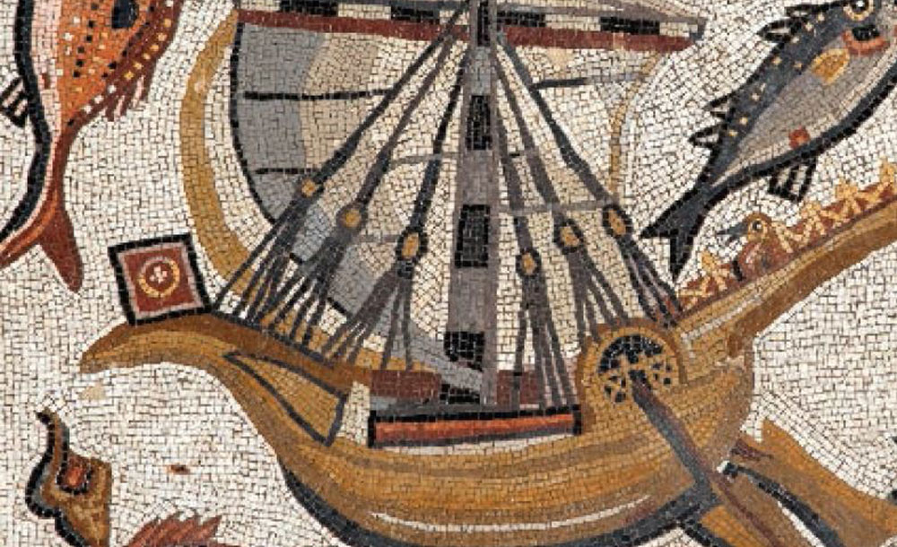 The Lod floor mosaic (detail) late third CE Israel Antiquities Authority