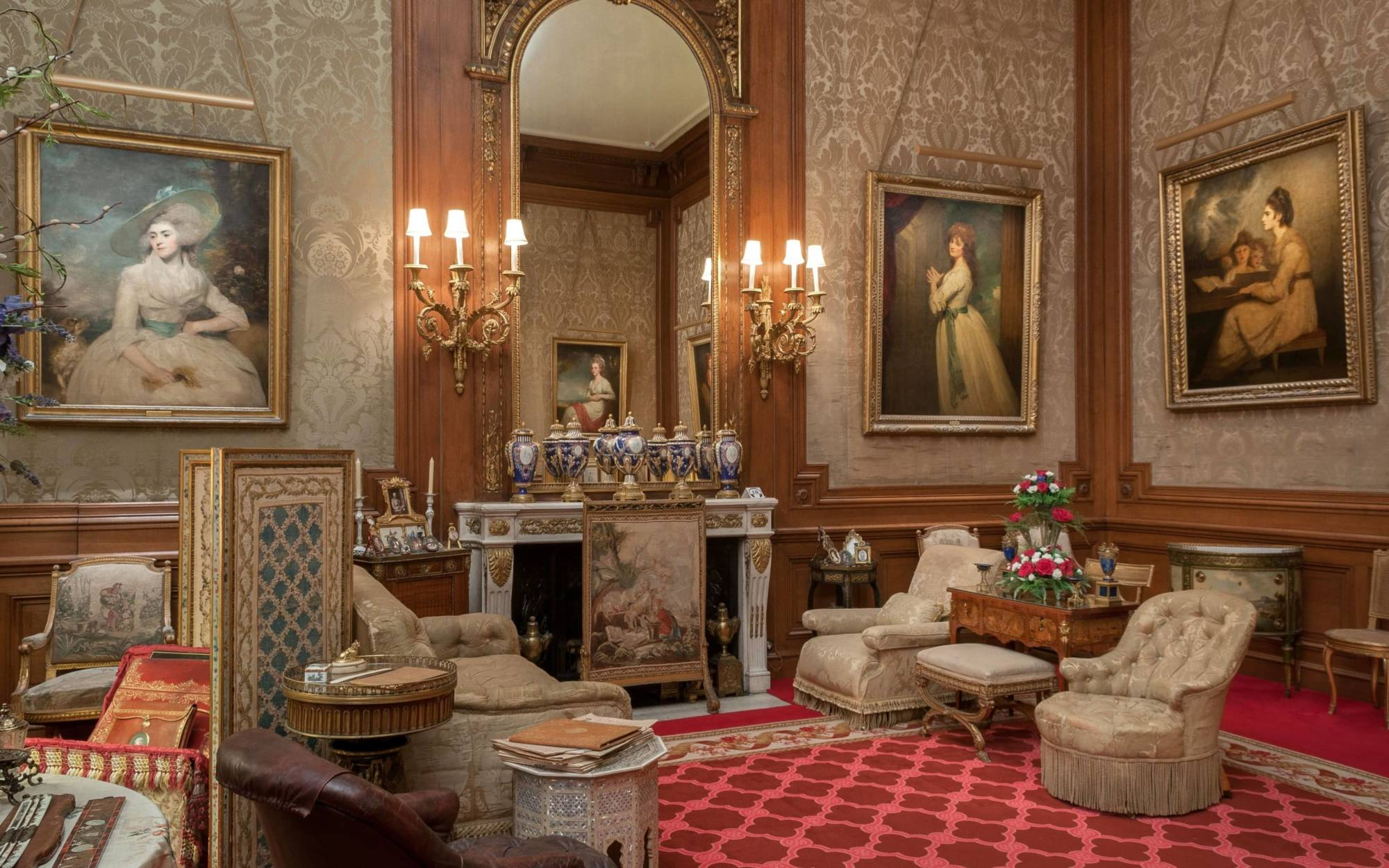 The barons room at Waddesdon Manor