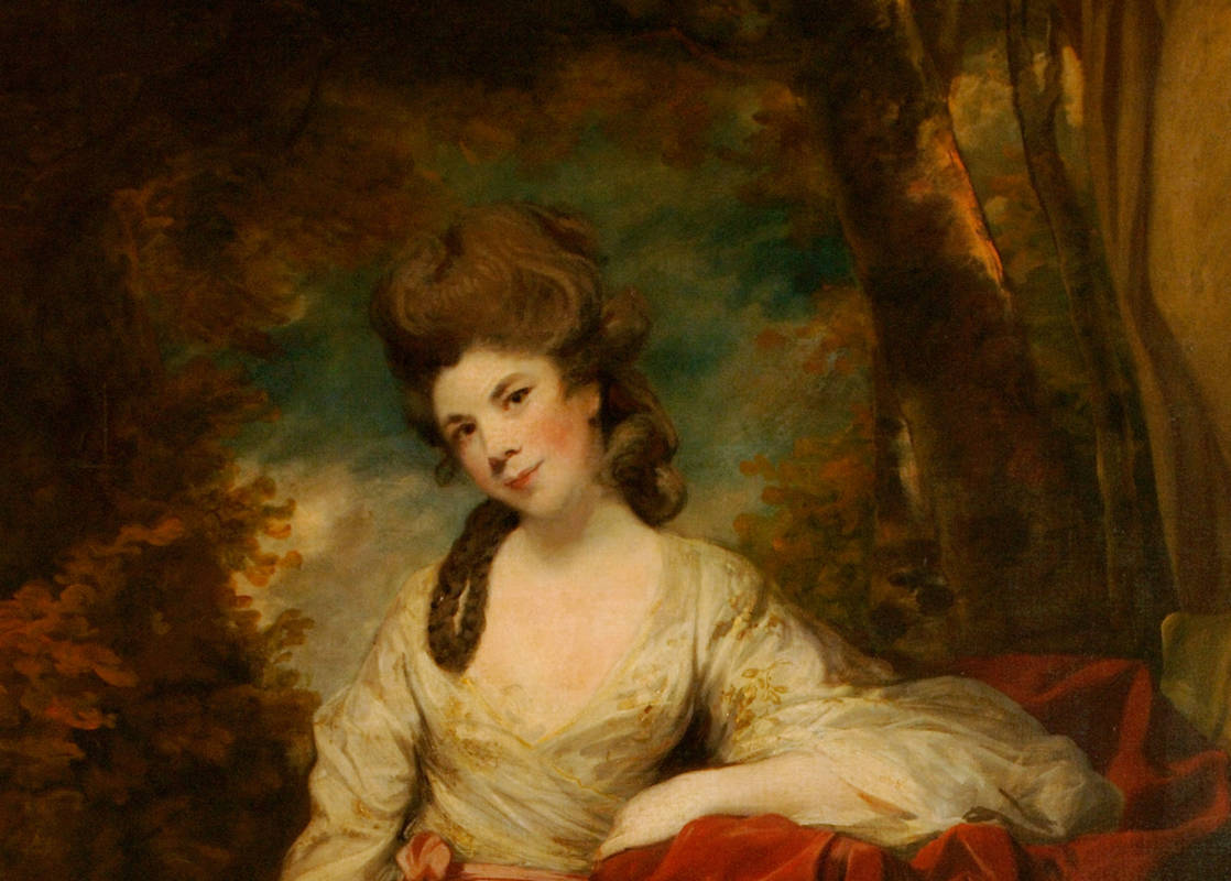 Mrs Abington (c1737 - 1815) as The Comic Muse
