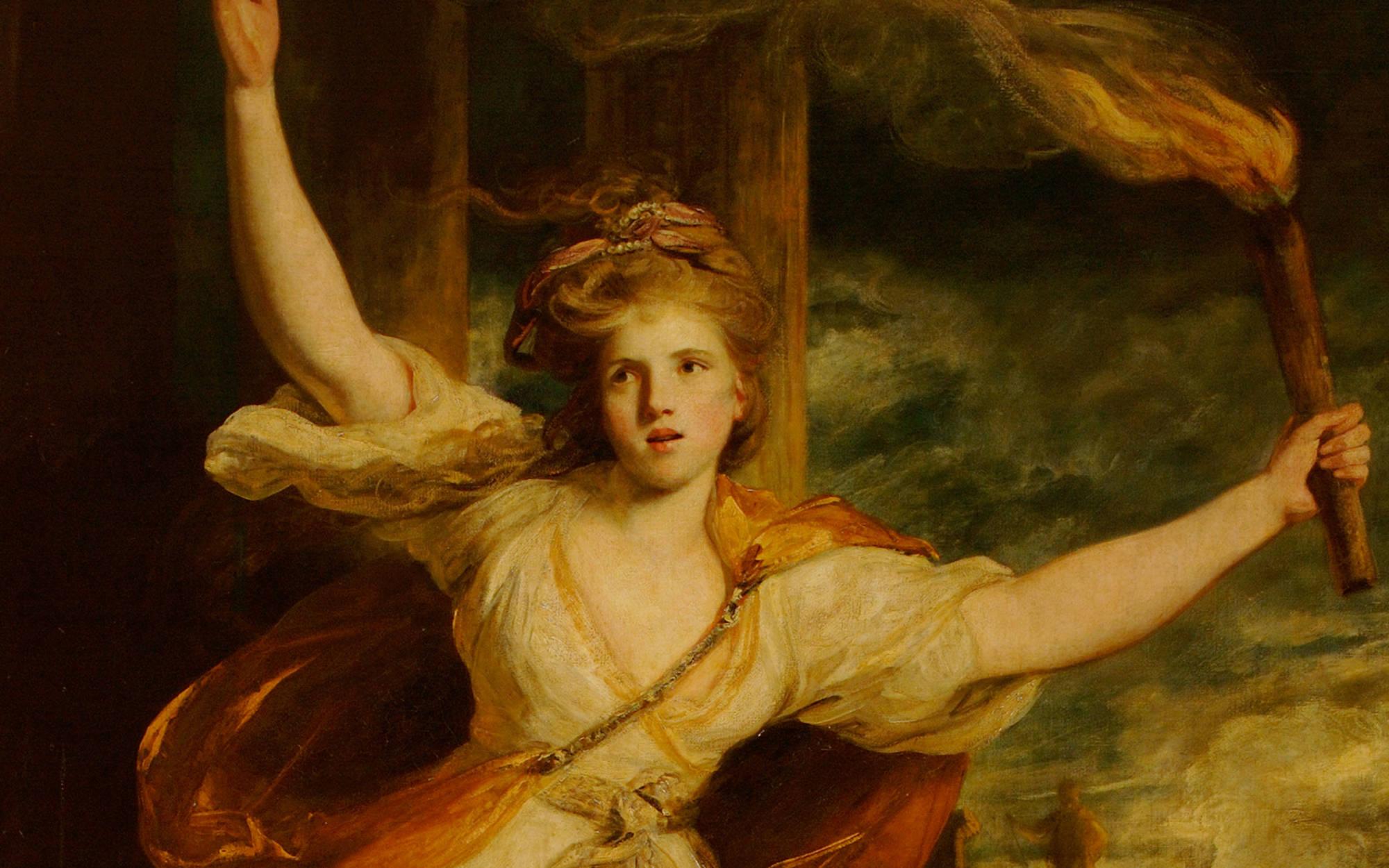 Joshua Reynolds, Thaïs, 1781; Waddesdon