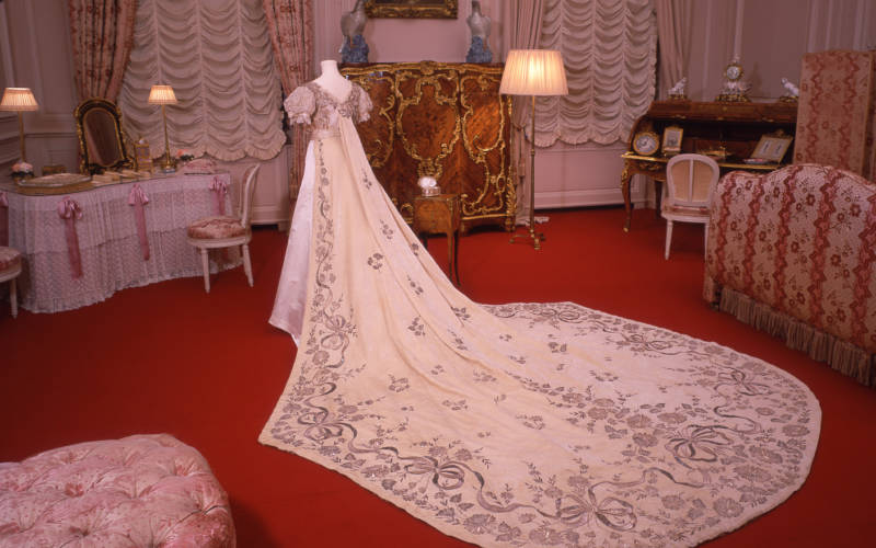 A Rothschild Wedding Dress