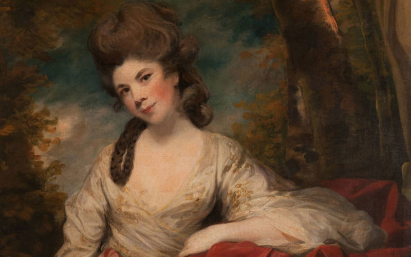 Joshua Reynolds, Mrs Abington as The Comic Muse, 1764-68