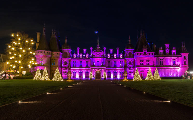 Christmas at Waddesdon in numbers