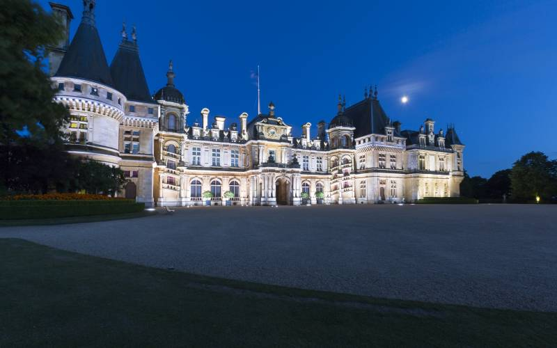 Waddesdon, a haunted house?