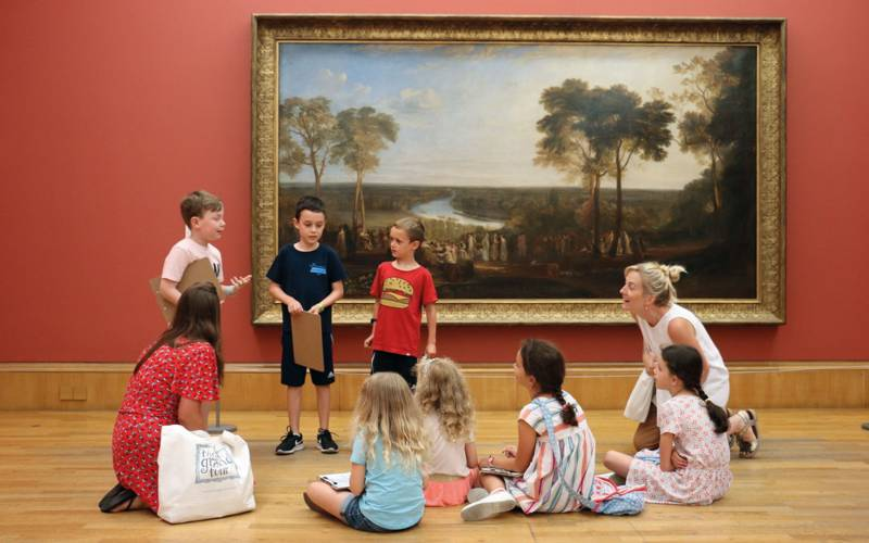 Children on the Little Grand Tour