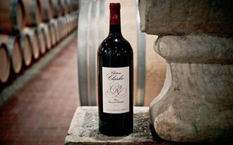 Bottle of Chateau Clarke