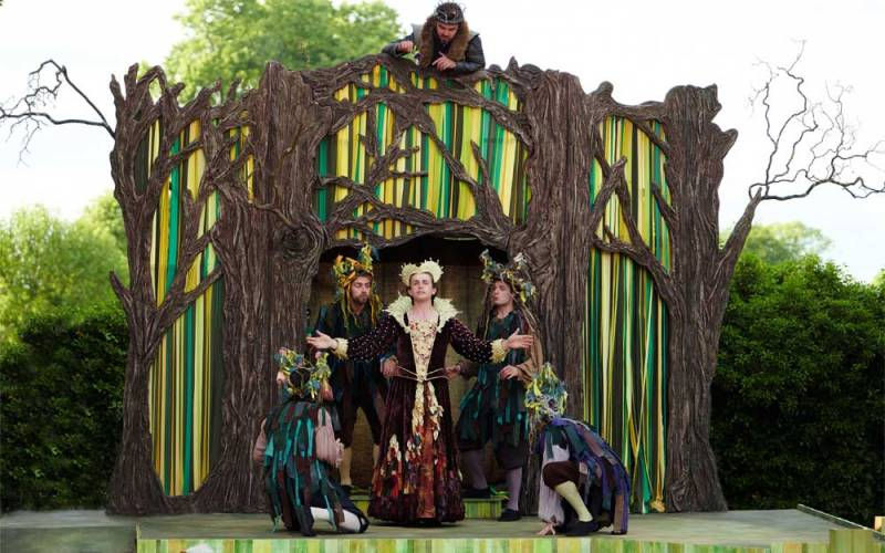 Midsummer nights dream performed by the lord chamberlain's men