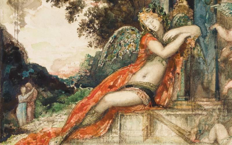 Gustave Moreau Discord (detail)