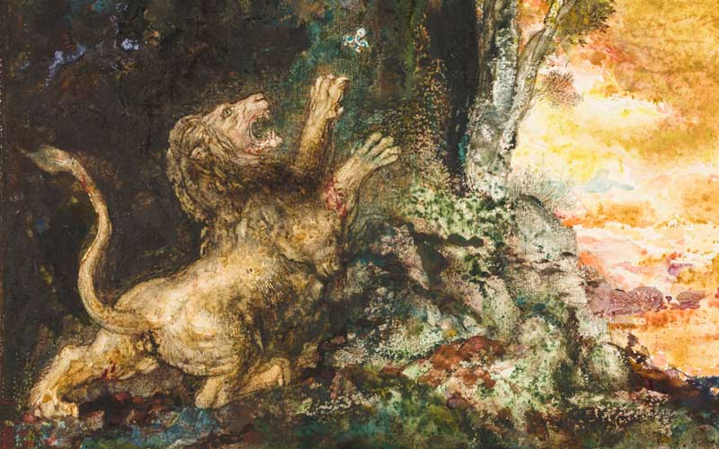 event-exhibition-gustave-moreau-the-lion-and-the-gnat-detail-800-500