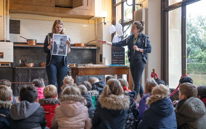 School session at Waddesdon