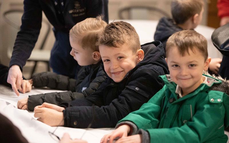 School visit to Waddesdon