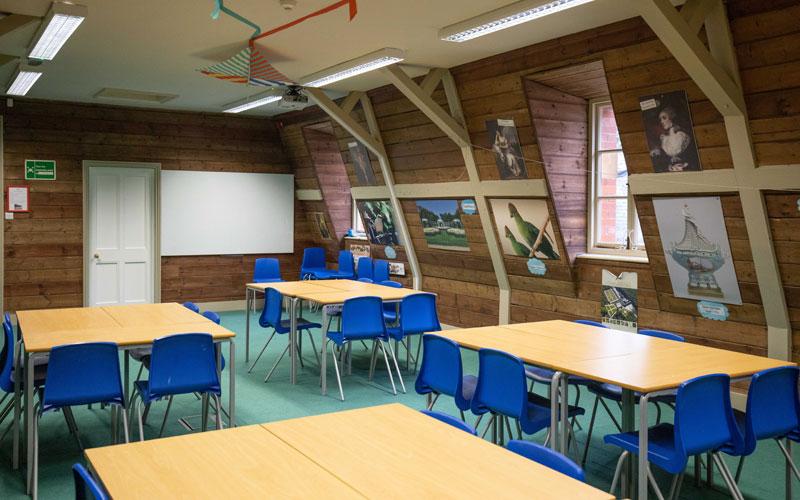 School education room at Waddesdon