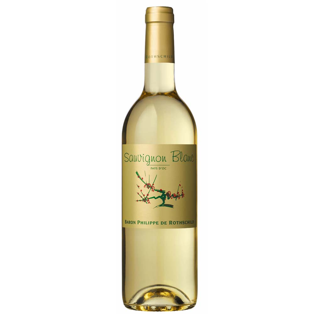 Baron Philippe sauvignon blanc single bottle image