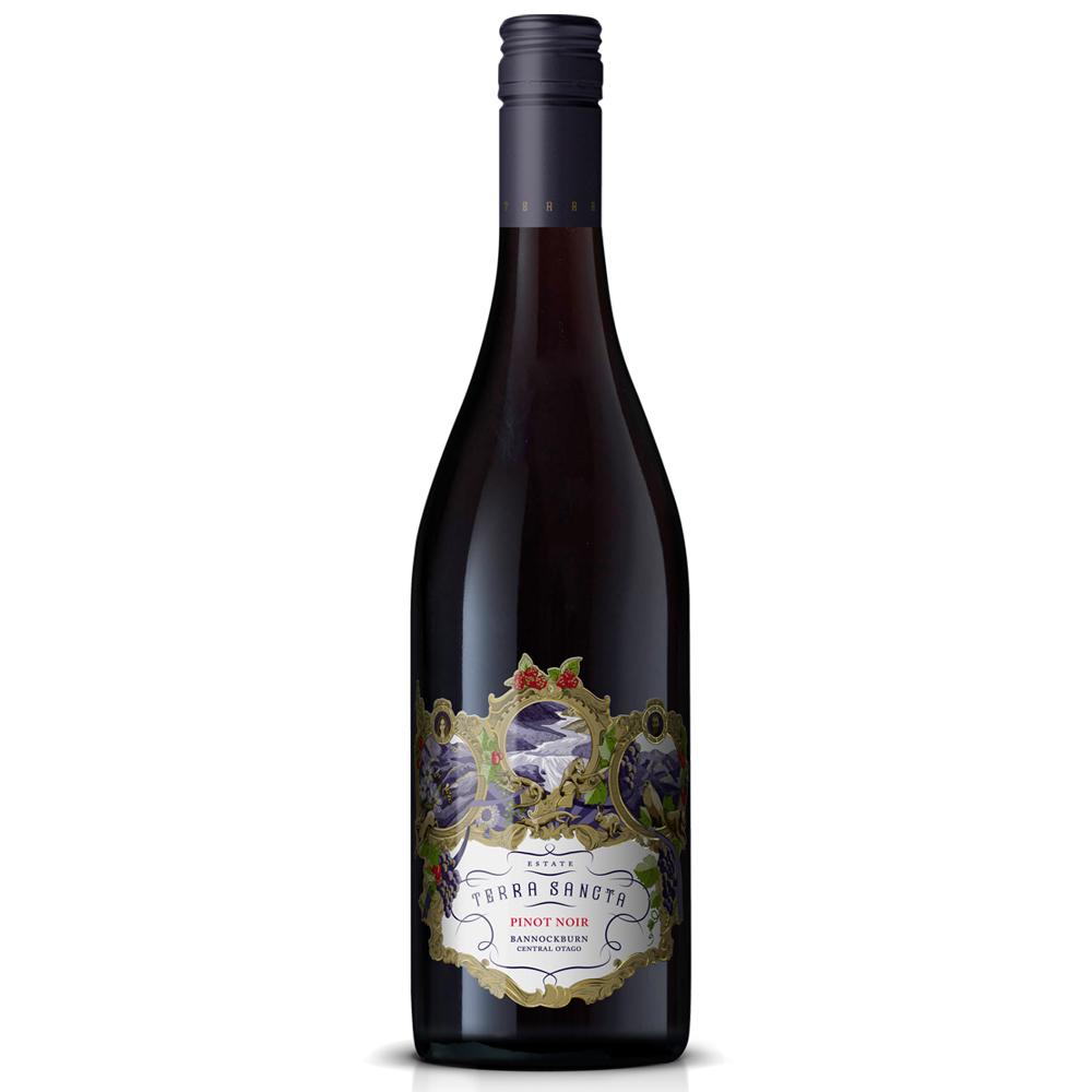 Terra Sancta Pinot Noir single bottle