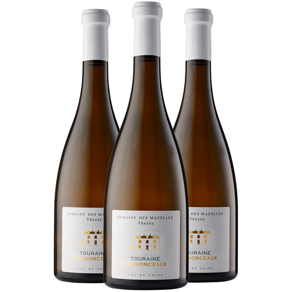 Touraine chenonceaux three bottle case