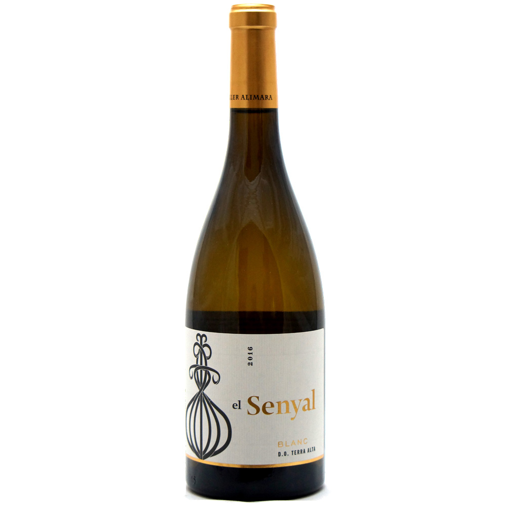 senyal blanc single bottle case