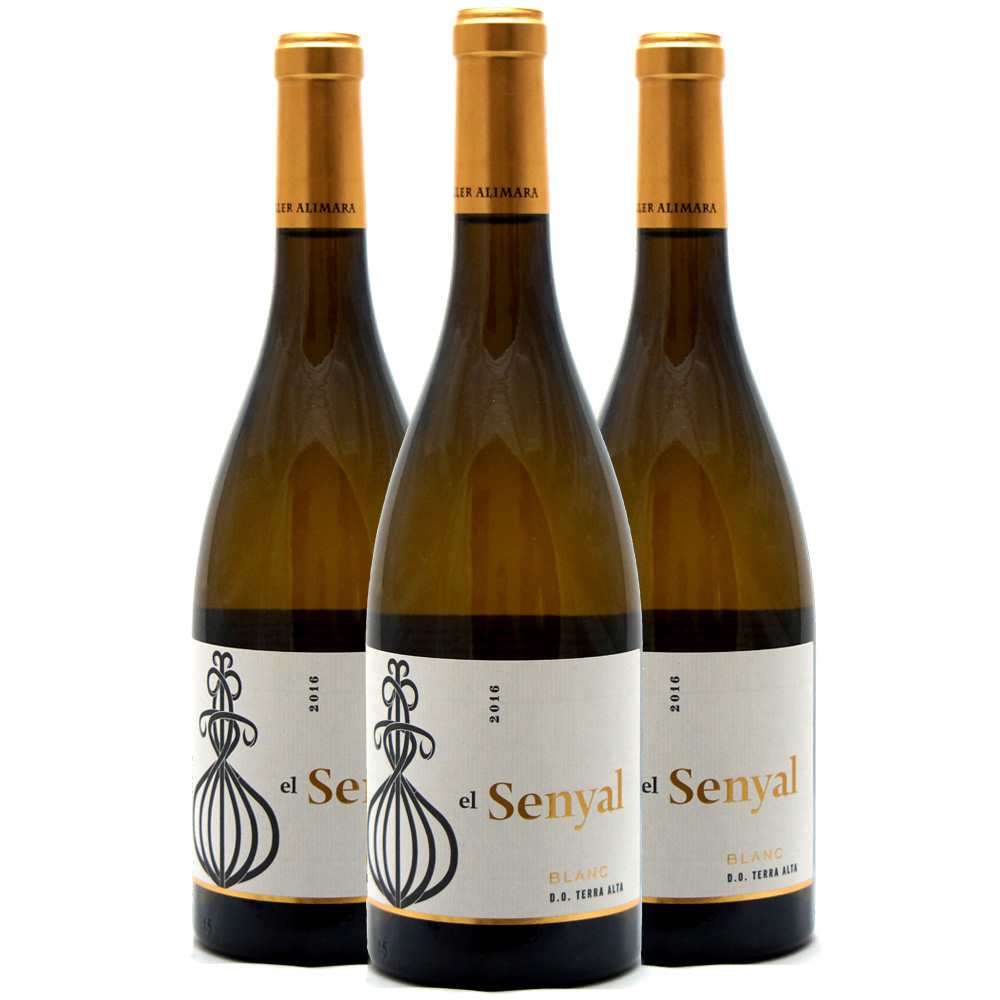 senyal blanc three bottle case