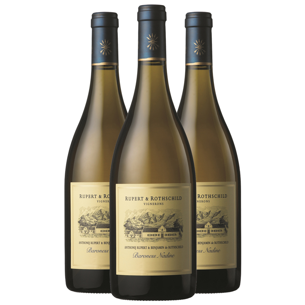 Baroness Nadine 2017 chardonnay three bottle case