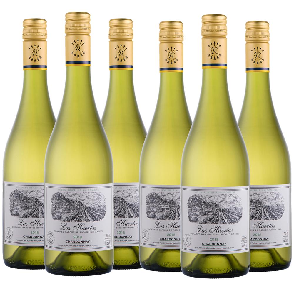 Las heurtas chardonnay three bottle case