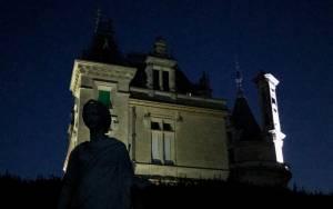 Waddesdon Manor at night
