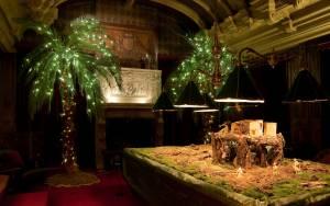 The Billiards Room, Christmas 2011.
