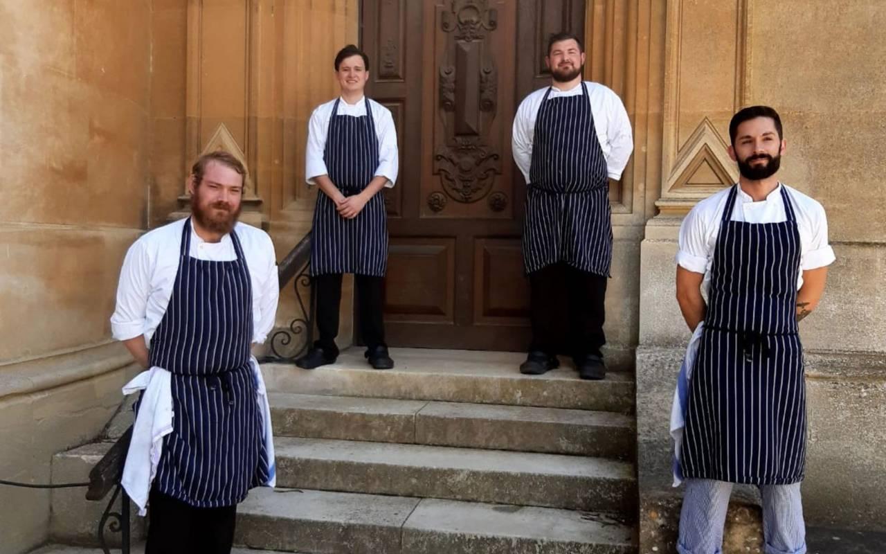 Waddesdon's chefs