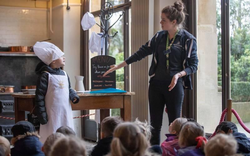 Westcott School visit 2020 © Waddesdon, A Rothschild House & Gardens. Photo Adam Hollier (6)