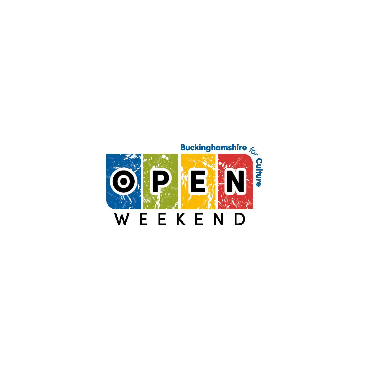 Bucks Culture Open Weekend logo