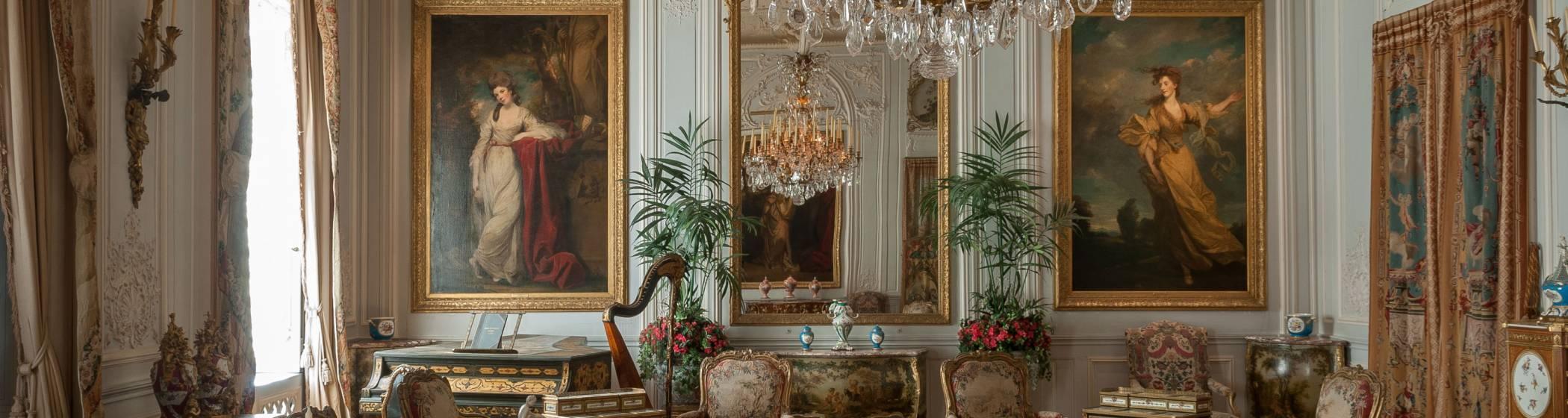 Grey Drawing Room at Waddesdon Manor
