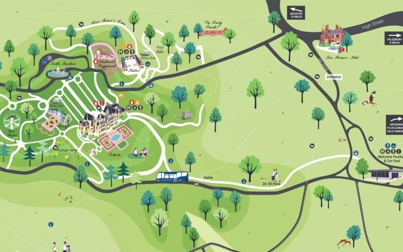 Waddesdon map cropped