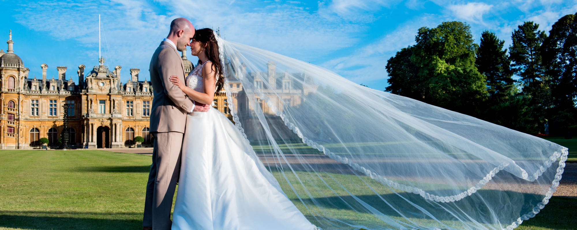 Married couple at Waddesdon